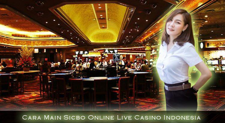 Cara Main Sicbo Online Live Casino Indonesia